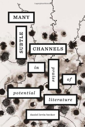 Many Subtle Channels In Praise of Potential Literature  2012 edition cover