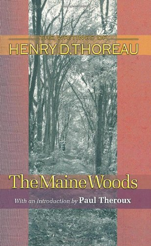Maine Woods   1983 (Revised) 9780691118772 Front Cover