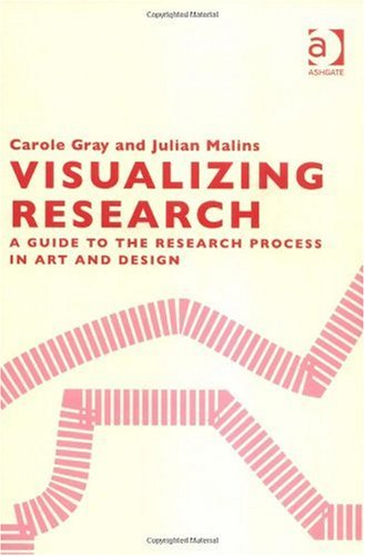 Visualising Research A Guide for Postgraduate Students in Art and Design  2004 edition cover