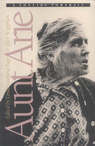 Aunt Arie A Foxfire Portrait  1992 (Reprint) edition cover