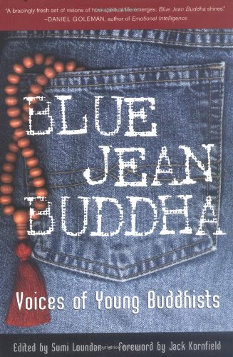 Blue Jean Buddha Voices of Young Buddhists  2001 edition cover