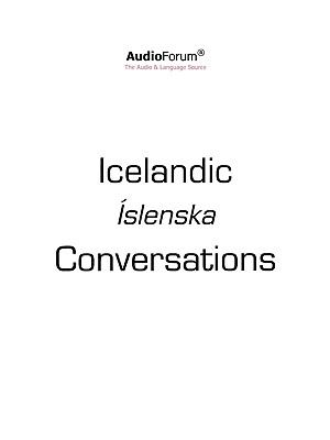 Icelandic Conversation N/A 9780884325772 Front Cover