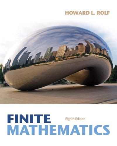 Finite Mathematics  8th 2014 edition cover