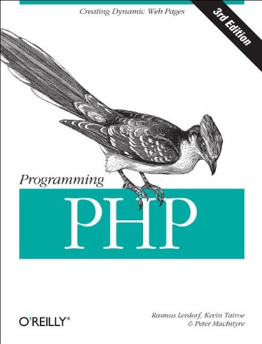 Programming PHP  3rd 2013 edition cover