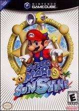 Super Mario Sunshine GameCube artwork