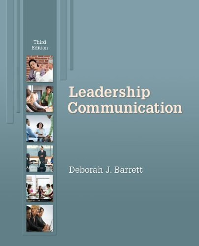 Leadership Communication  3rd 2010 edition cover
