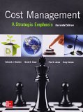 Cost Management A Strategic Emphasis 7th 2016 9780077733773 Front Cover
