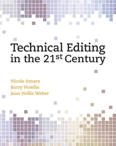 Technical Editing in the 21st Century   2011 9780131196773 Front Cover
