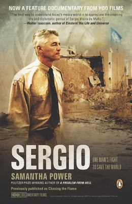 Sergio One Man's Fight to Save the World Movie Tie-In  edition cover