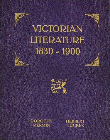 Victorian Literature 1830-1900  2002 edition cover