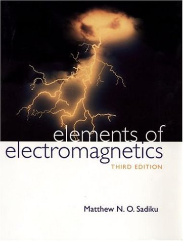 Elements of Electromagnetics  3rd 2001 (Revised) edition cover