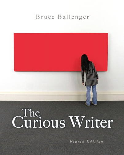 Curious Writer  4th 2014 edition cover