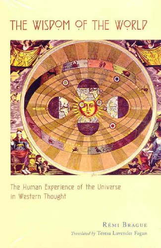 Wisdom of the World The Human Experience of the Universe in Western Thought  2003 edition cover