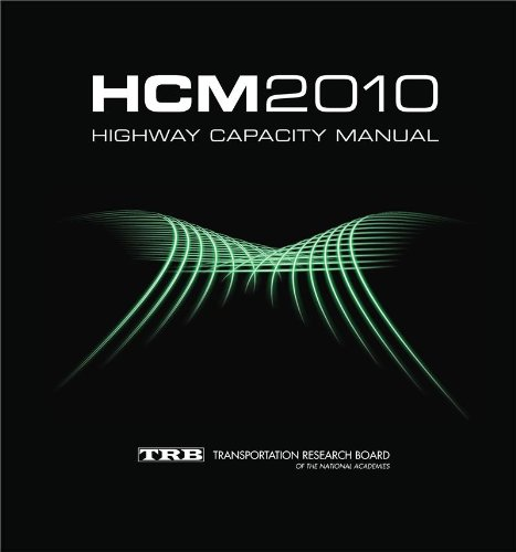 Highway Capacity Manual: HCM 2010 (3 Volume Set) 5th edition cover