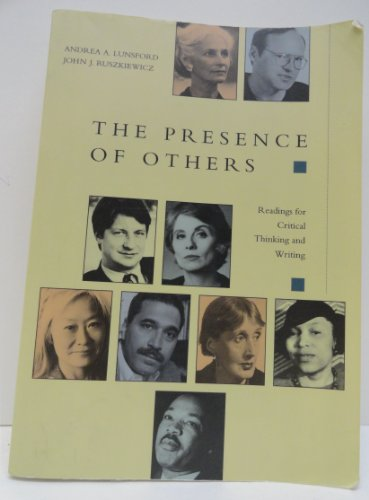 Presence of Others : Readings for Critical Thinking and Writing 1st edition cover