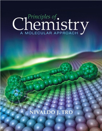 Principles of Chemistry A Molecular Approach  2010 edition cover