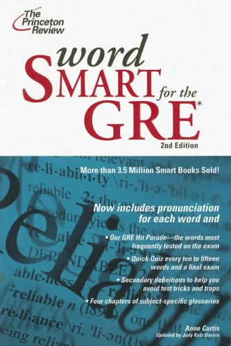 Word Smart for the GRE  2nd 2007 edition cover