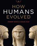 How Humans Evolved:   2014 edition cover