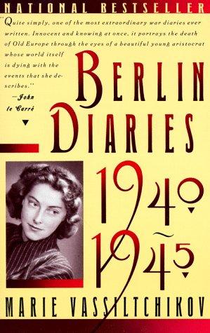 Berlin Diaries, 1940-1945  Reprint edition cover