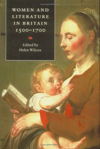 Women and Literature in Britain, 1500-1700   1996 9780521467773 Front Cover