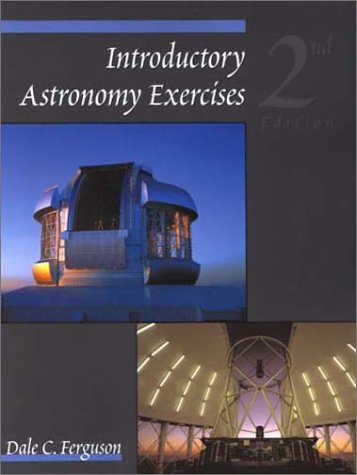 Introductory Astronomy Exercises  2nd 2001 (Revised) 9780534379773 Front Cover