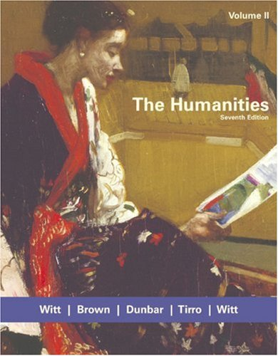 Humanities  7th 2005 edition cover