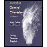 Essentials of General Chemistry  2nd 2006 (Student Manual, Study Guide, etc.) 9780618491773 Front Cover