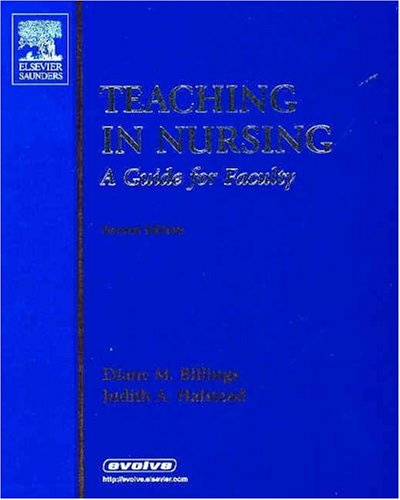 Teaching in Nursing A Guide for Faculty 2nd 2005 edition cover