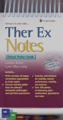 Ther Ex Notes Clinical Pocket Guide  2011 edition cover