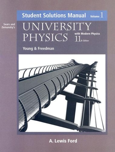 University Physics With Modern Physics  11th 2004 edition cover