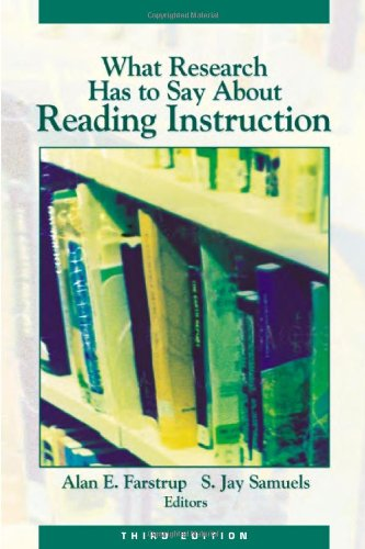 What Research Has to Say about Reading Instruction  3rd 2002 edition cover
