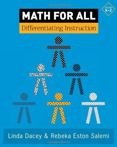 Math for All Differentiating Instruction, Grades K-2  2007 9780941355773 Front Cover