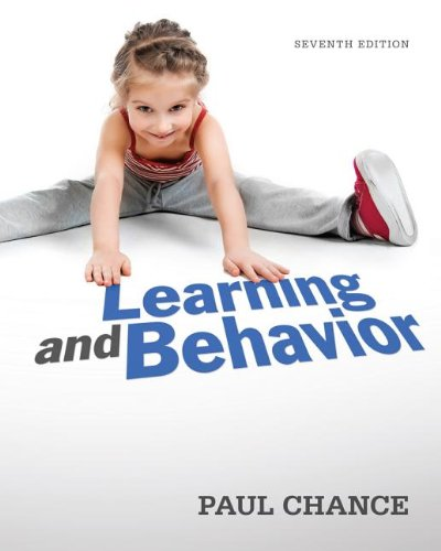 Learning and Behavior: Active Learning Edition  2013 9781111832773 Front Cover
