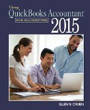 Using Quickbooks Accountant 2015 for Accounting + Data File:   2015 edition cover