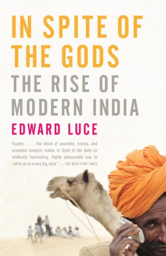 In Spite of the Gods The Rise of Modern India  2008 edition cover