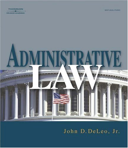 Administrative Law   2009 9781401858773 Front Cover