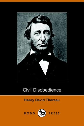 Civil Disobedience  N/A 9781406501773 Front Cover