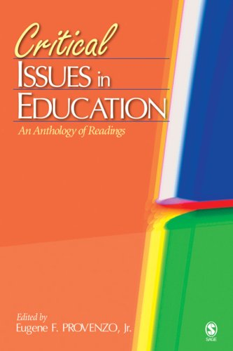 Critical Issues in Education An Anthology of Readings  2006 edition cover