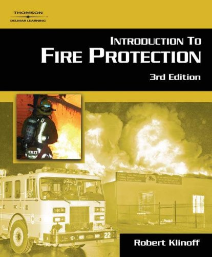 Introduction to Fire Protection  3rd 2007 (Revised) edition cover