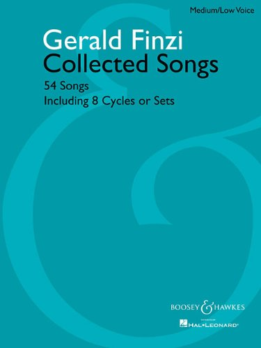 Collected Songs 54 Songs, Including 8 Cycles or Sets N/A edition cover