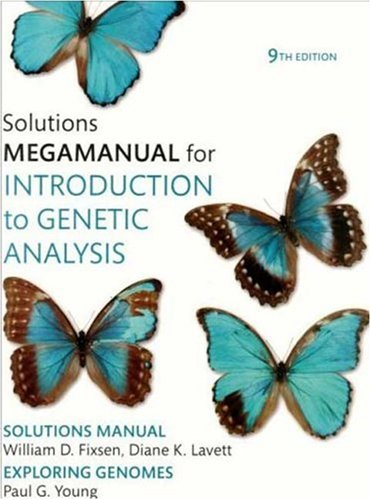 Introduction to Genetic Analysis  9th 2008 edition cover
