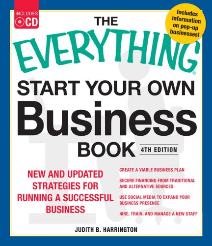 Start Your Own Business Book New and Updated Strategies for Running a Successful Business 4th 2012 edition cover