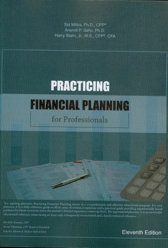 Practicing Financial Planning: For Professionals  2012 edition cover