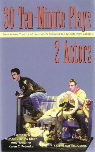 30 Ten-Minute Plays for 2 Actors 1st 2001 edition cover