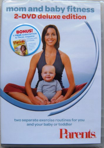 Mom and Baby Fitness 2-DVD Deluxe Edition System.Collections.Generic.List`1[System.String] artwork