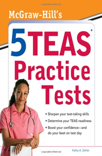 5 TEAS Practice Tests   2012 edition cover