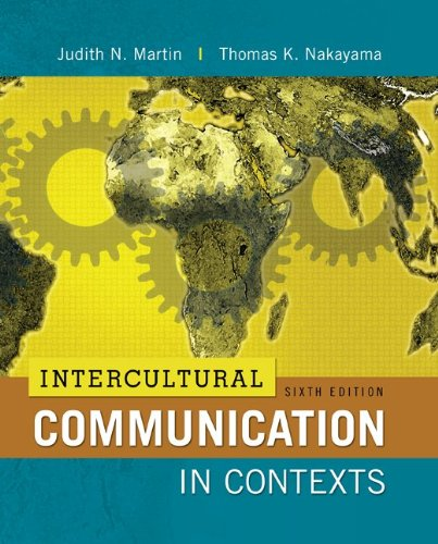 Intercultural Communication in Contexts  6th 2013 edition cover