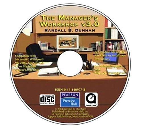 Manager's Workshop 3.0  3rd 2004 edition cover