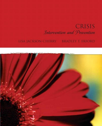 Crisis Intervention and Prevention   2010 edition cover
