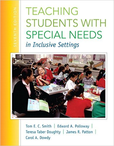 Teaching Students with Special Needs in Inclusive Settings (Loose Leaf) 7th 2014 edition cover